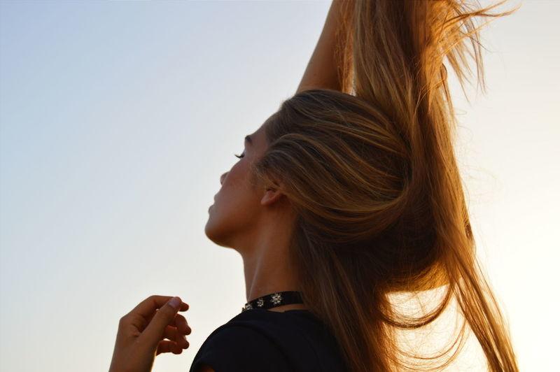 Beauty Blond Hair Close-up Headshot Long Hair Outdoors Women First Eyeem Photo Portrait Portrait Of A Woman Uniqueness EyeEmNewHere Women Around The World