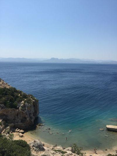 Somewhere near Corinth. (2) Greece Photos Loutraki Sea Nature Scenics Clear Sky Beauty In Nature Beach Horizon Over Water Landscape