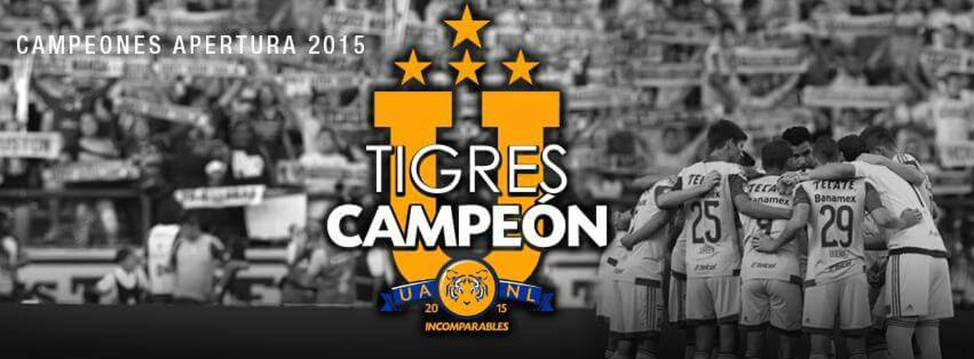 Tigres UANL ligamx 2015 champions