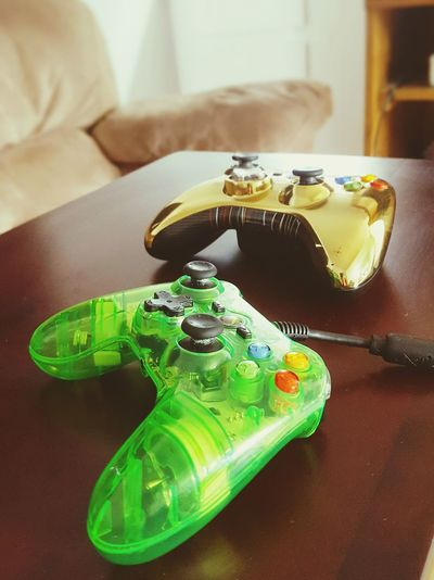 Xbox Controller Games Inside Couch Green Controller Gold Controller Small Controller
