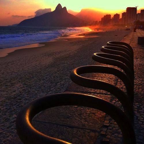 Sunset - Bike