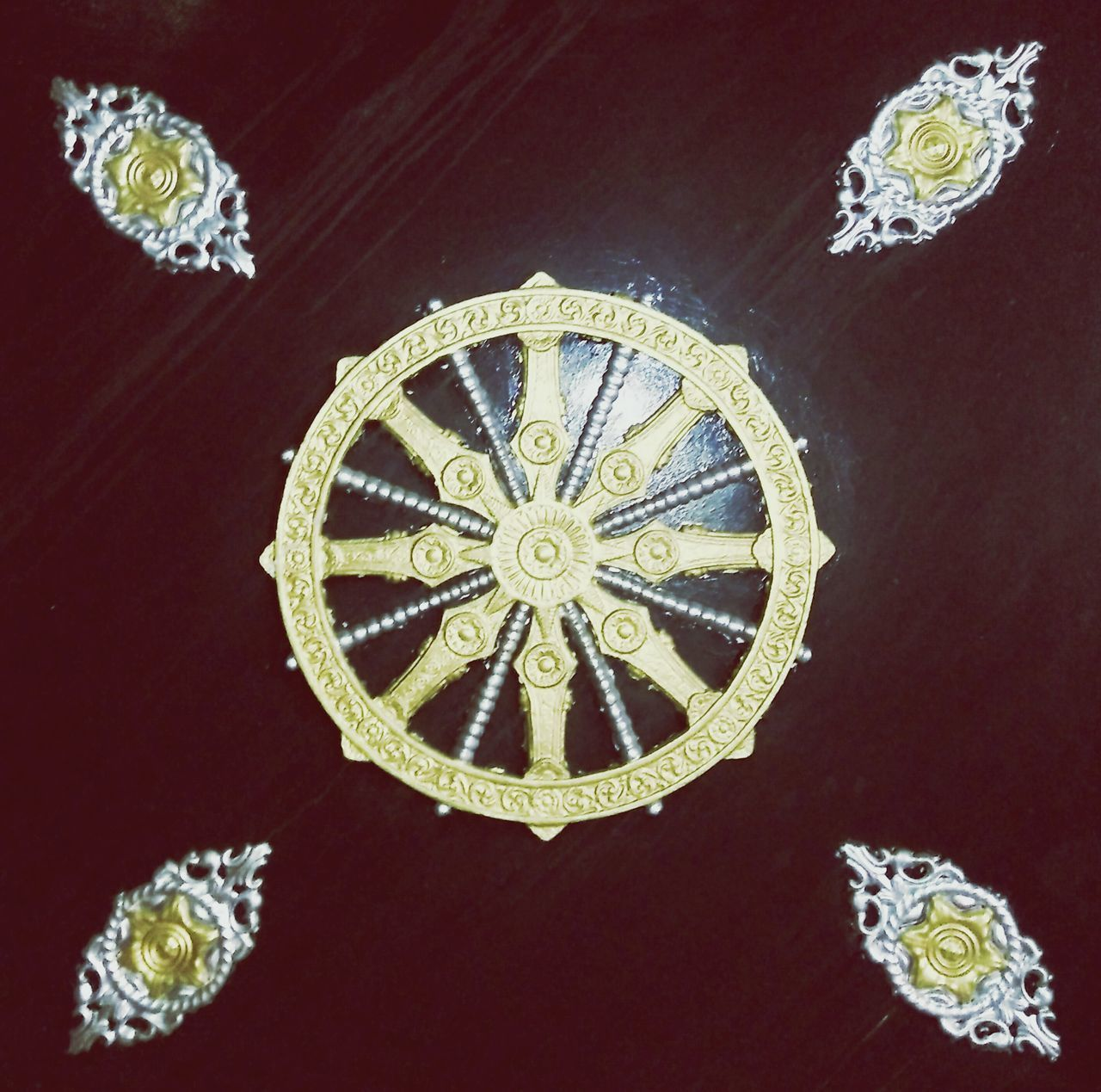 design, ornate, luxury, wealth, indoors, close-up, no people, gold colored, royalty, day