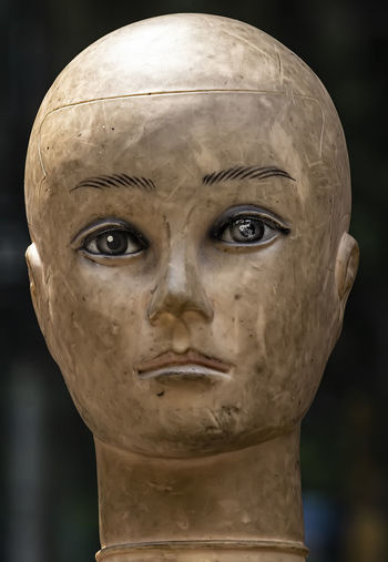 mannequin head Mannequin Mannequin Head Mannequin Still Scuffed And Dirty Mannequin Head Still Life