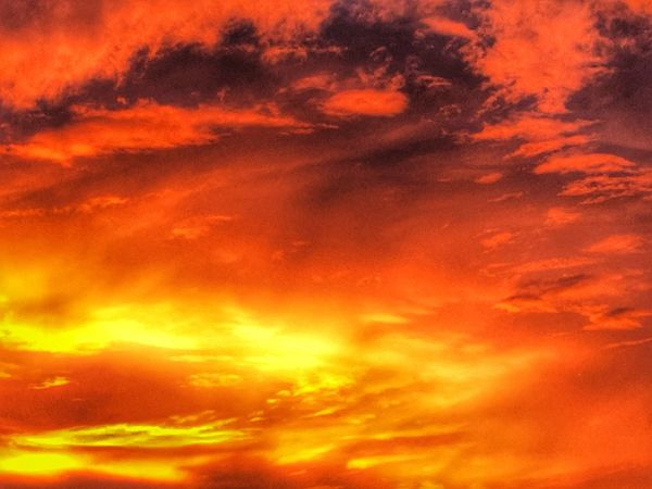 Fire in the Sky..... Clouds Of Passion Sunsets Over Texas