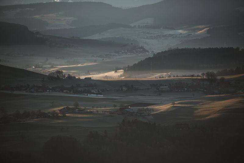 Hills Morning Morning Light Soft Light Trees Countryside Forest Hillside Idyllic Idyllic Scenery Landscape Scenics Stacked