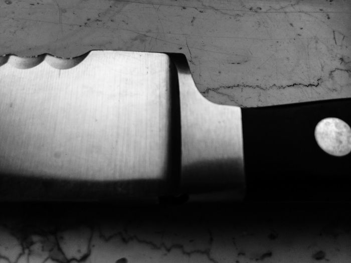 For a chief it is a tool. For a murderer it is a weapon. Point of view is everything that matters. Black And White Weapon Tools