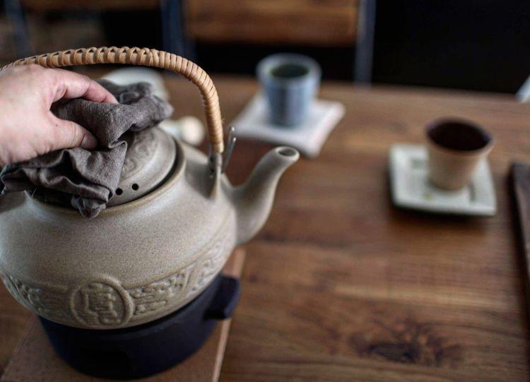 Tea Lifestyles Taiwan Kitchen Life Kitchen Kitchen Tool Human Hand Tea - Hot Drink Teapot Drink Close-up