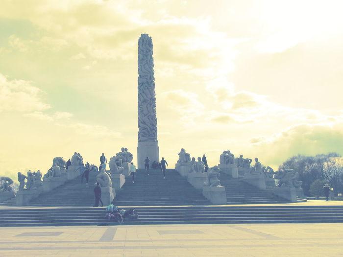 Monolitten Park The Vigeland Park Vigeland Vigeland Park Vigeland Sculpture Park Vigelandparken Vigelandsparken