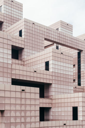 The Architect - 2018 EyeEm Awards Architecture Building Building Exterior Built Structure City Day Design Low Angle View Minimal Minimals Modern No People Outdoors Pattern Residential District Sky Tiles Tiles Architecture Tiles Textures