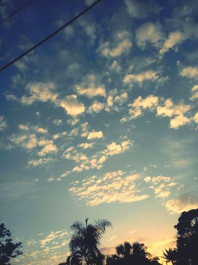 beautiful birthday clouds