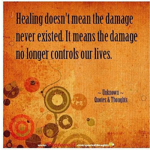 Truth Healing Truth Damages