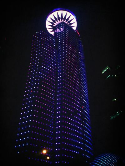 lights Taking Photos Qatar Tower Check This Out