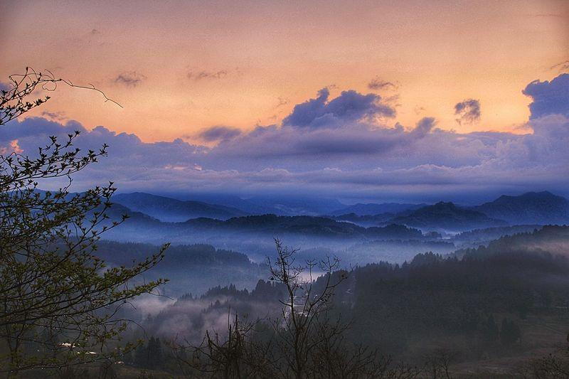 キセキの朝焼け。 あなたがいるソラ あなたと見隊 あなたを想う Niigata 新潟 雲海 Beauty In Nature Sky Landscape 大月 Japan Sunrise 朝焼け