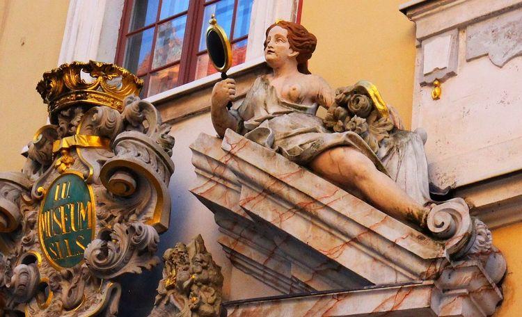 Altstadt Architecture Denkmal Door Human Representation Mythology No People Outdoors Portal Sachsen Schlesien Sculpture Statue