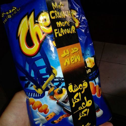 Cheetos Twisted 3ade Fakkarto tayyeb lol