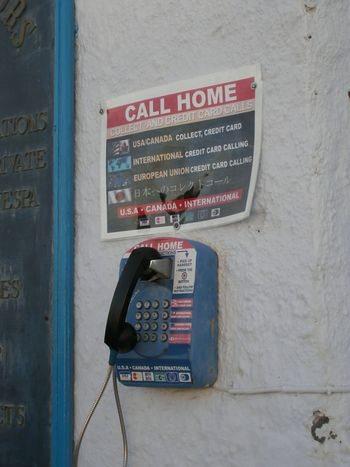 Call Home Communication No People