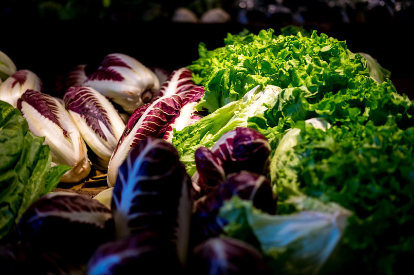 Luce Radicchio Beauty In Nature Close-up Colori Del Mattino Food Freshness Nature Plant Rosso Selective Focus Vegetable Verdura Food Stories