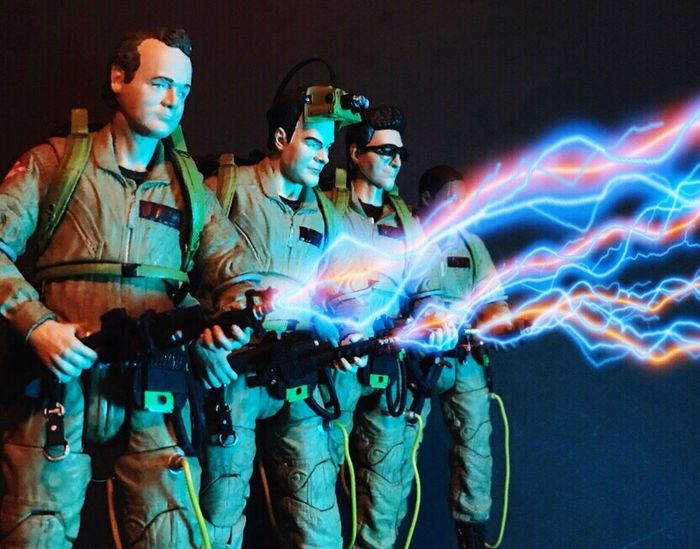Don't cross the streams!!! Ghostbusters Diamond Select Toys The Real Ghostbusters Action Figure Photography