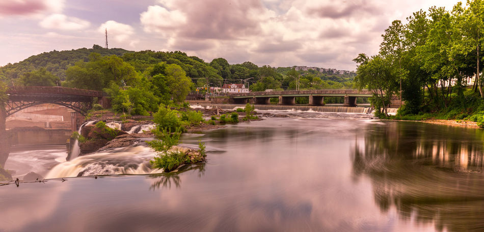 Paterson, NJ Landscape_Collection Nature New Jersey Pond Riverside Travel Water Reflections Arch Bridge Architecture Bridge Bridge - Man Made Structure Landscape Nature No People Outdoors Outdoors Photograpghy  Park Park - Man Made Space Reflection River Tree Water Water_collection Waterfall Waterfront EyeEmNewHere Creative Space The Traveler - 2018 EyeEm Awards The Great Outdoors - 2018 EyeEm Awards Summer Road Tripping