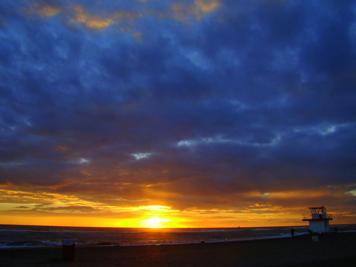 Great Views Tramonto Beach Beauty In Nature Blue Sky And Clouds Cloud - Sky Horizon Horizon Over Water Land Lifeguard Hut Nature Ostia Outdoors Saturazione Scenics - Nature Sea Sky Sunset Tramonto A Colori Tramonto Curvone Tramonto Saturo Tramonto Sul Mare Tranquil Scene Tranquility Water