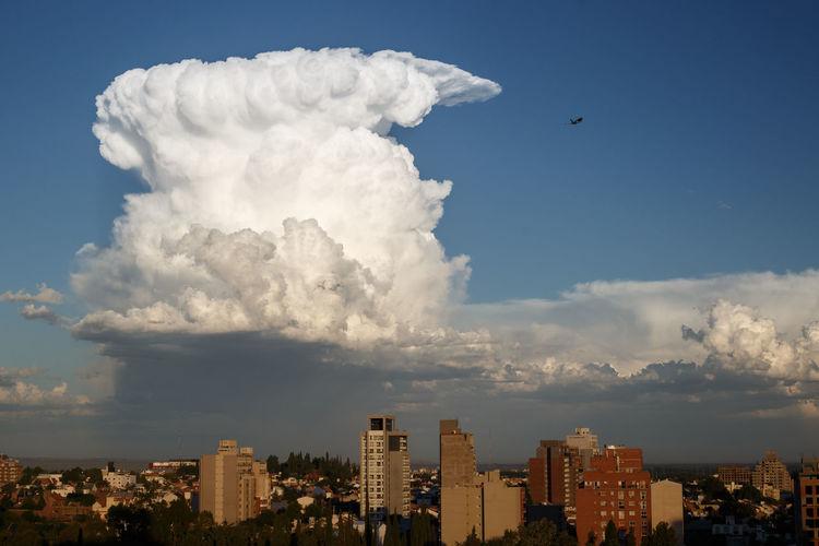 City Cityscape Cloud Cloud - Sky Clouds Cumulus Cumulus Cloud Cumulus Nimbus Day No People Outdoors Sky Skyscraper Storm Storm Cloud Urban Skyline