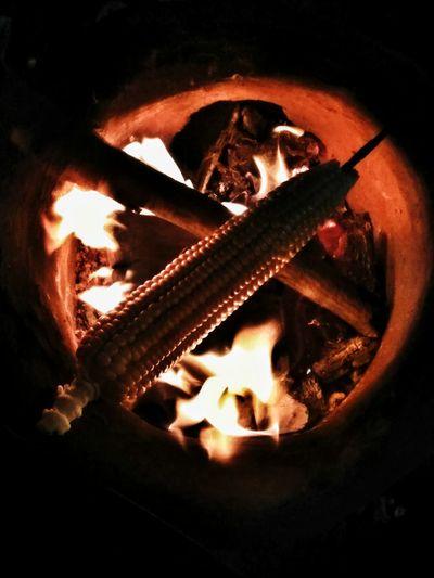 Heat - Temperature Corn Burning