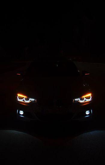 Supercars Luxury Turkishphotographer Cars 3series F30 Bmw Night Car Transportation Motor Vehicle Mode Of Transportation Land Vehicle Illuminated