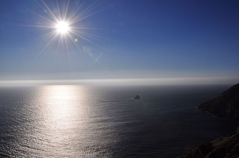 Blue Camino Majestic Nature Sea Sky Sun Sunbeam
