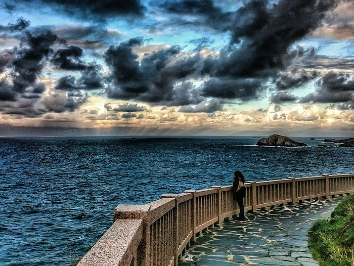 Water Sea Horizon Over Water Sky Cloud Beauty In Nature Landscape Nature The Magic Mission
