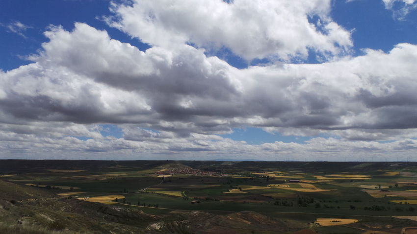 Camino CaminodeSantiago Cloud Cloud - Sky El Camino De Santiago Himmel Jakobsweg Sky Way Of Saint James Wolken Wolkenhimmel