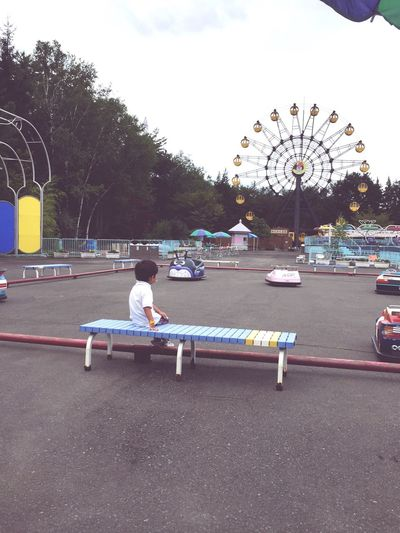 Bye Iwayama ParkLand.See you next time! 岩山パークランド 遊園地 Japan Iwate Park Followme Boy Summer ☀