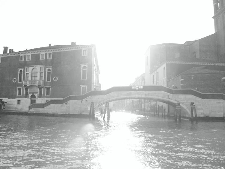 Architecture Blackandwhite Bridge City City Life Connection Culture Engineering Glitch Into The Light Lens Flare Light Lonely Monochrome River Tourism Travel Urban Water Waterfront