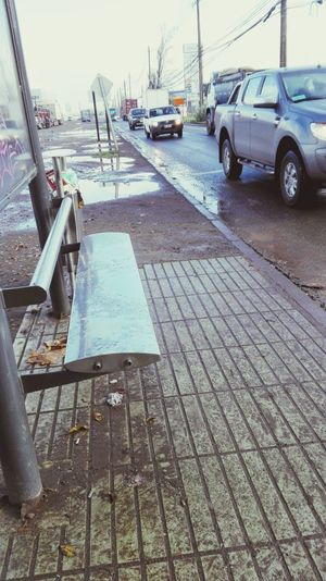 Despues de la lluvia Lo Boza Pega Frio Frio y mas Frio... Pudahuel Santiago Chile