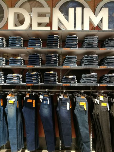 Indoors  Close-up No People Day Jeans Jeans Shopping Denim Denimjeans Denimlover Denim Fashion Cagayan De Oro City HuaweiP9Photography Eyeem Philippines