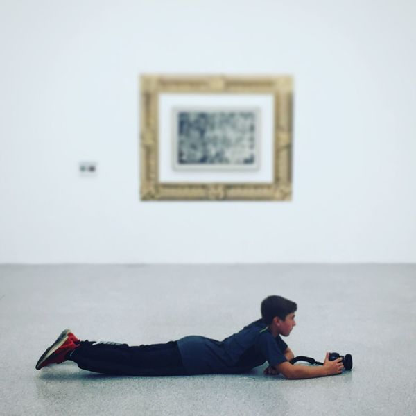 Taking Photos Architecture Museion Contemporary Art Visiting Kidsphotography Kids Being Kids