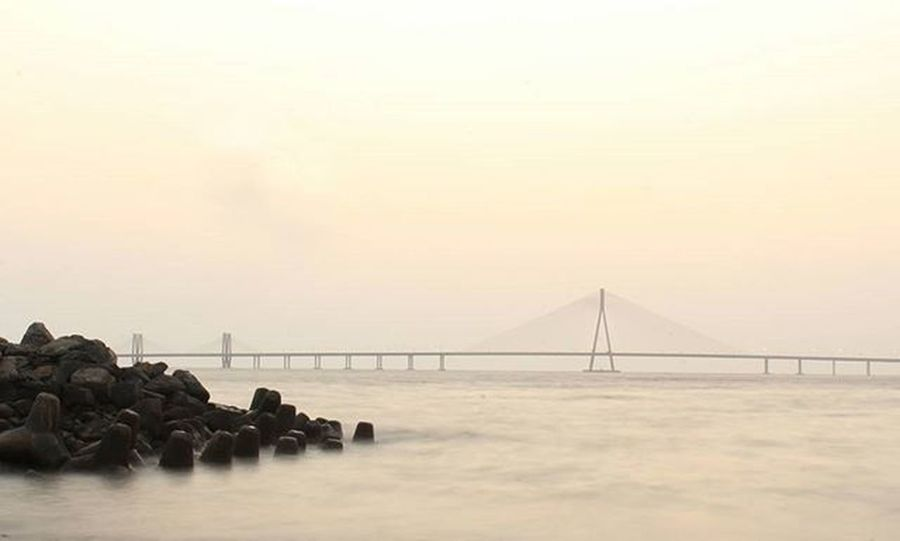 Bandra Worli Sea Link ~2~ Friends often tell me how I am not living the moment with a camera in my hand all the time, but however the thing is completely different! Photographing moments makes me live more in the present, forgetting the past, not worrying about the future! Photography changed the way I see, I observe things, the minutest of things around me. Even when I look through my eyes I compose the scene imagining how it would look on my camera! Obsession Photographersofindia Indianphotographers Storiesofindia Igers Igramming_india Instagram Mumbai_bizarre Createcommune Canon_photos Ff_camera Canonphotography Soi_india Longexposure Earthday2016