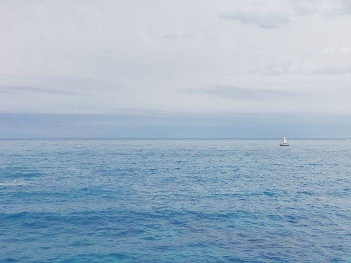 Out at sea Sea