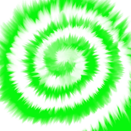 High angle view of spiral on white background