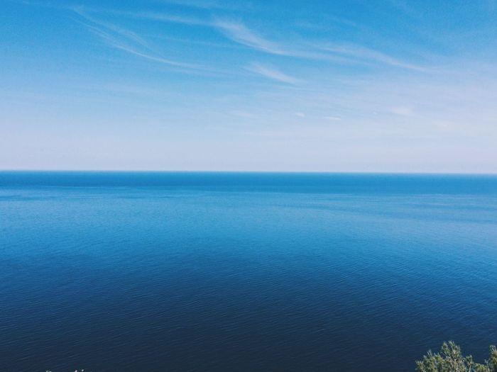 Ocean view. So