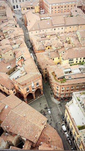 Urban Landscape Urban 4 Filter Landscape_Collection Lanscape Photography Taking Photos Torre Degli Asinelli Bologna Living Bold From The Rooftop