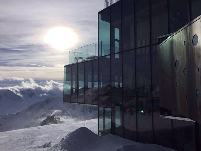 Soelden James Bond Mountains Snow