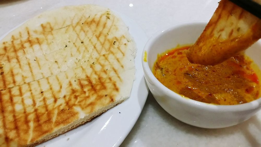 Curry and Bread Food And Drink Currysauce Indiancuisine Roti Prata