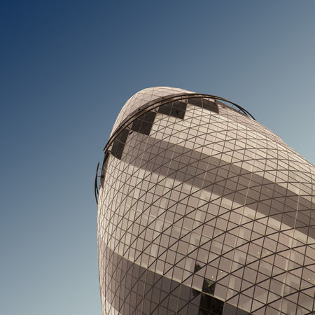 Architecture Built Structure City Clear Sky Day Gherkin Building Modern No People Outdoors Sky Skyscraper The Architect