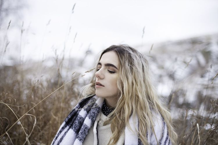Russian girl in Revun Winter Ural Yekaterinburg Russian Russia EyeEm Selects Headshot Lifestyles Portrait One Person Young Adult Young Women Leisure Activity Winter Nature Warm Clothing Real People Women Front View Beautiful Woman Day Looking Beauty Hair Hairstyle Field