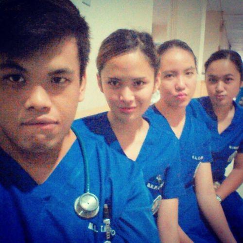 Bea a.k.a. Ellen Adarna and the babes... Duty SurgeryRotation Studentnurses SUCN