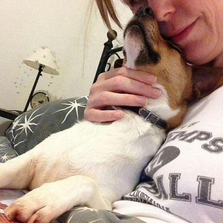 Je t'aime maman 💕🐕 Iloveyou Happynewyear 2016 Bonneannee Jackrussel Hug Love Dog Instacute Instalove Ilovemydog Iloveyou Jrt Happynewyear2016 Ilovemydog
