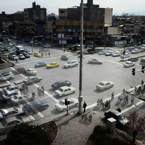 Photography Mashhad Iran Azadshahr Trafik