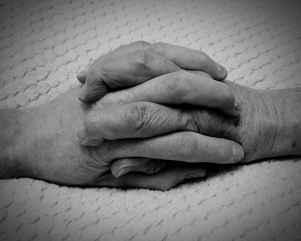 Young and Old Human Body Part Human Hand Togetherness Two People Adult Bonding People Indoors  Close-up Adults Only Day Grandma And Grandson Black And White Black And White Photography Beauty In Nature