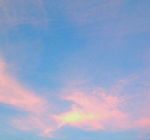 Cotton candy sky Sky Sunset Beauty Nature