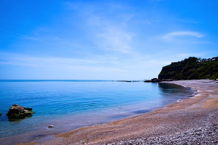 Paradise Sea Water Sky Blue Beauty In Nature Tranquility Nature Horizon Over Water Beach Landscape Colors Colorful